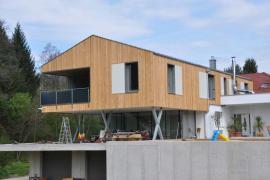 Modernes Holzhaus in Vestenthal